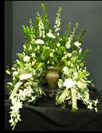 Funeral Sympathy Urn Tribute Delivery