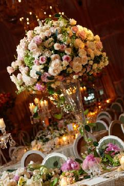 More Brides Are Putting Their Flower Budget Towards The Wedding Reception